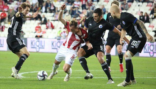 Sivasspor, Kopenhag karşısında işi zora soktu