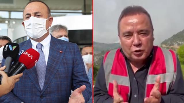 Son Dakika: Dışişleri Bakanı Çavuşoğlu'nda Muhittin Böcek'e yanıt!