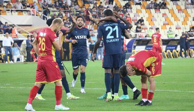 Trabzonspor, deplasmanda Yeni Malatyaspor'u 5-1 mağlup etti