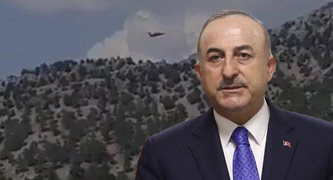 SON DAKİKA... Bakan Mevlüt Çavuşoğlu'ndan düşen uçakla ilgili ilk açıklama