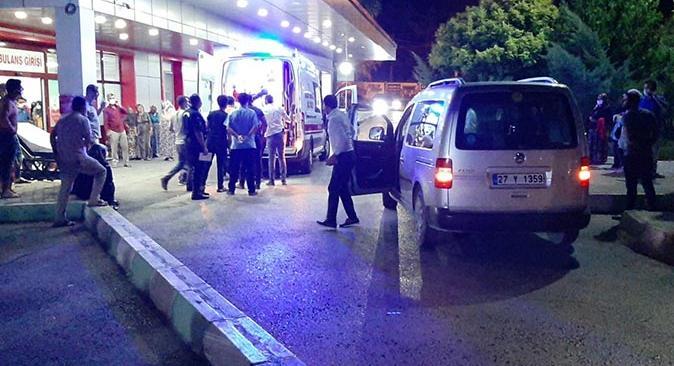 Gaziantep'teki düğünde havaya ateş açıldı! Yaralılar var