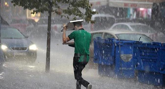 Meteoroloji'den birçok il için kuvvetli yağış uyarısı