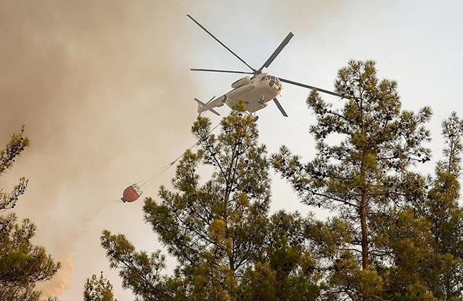 Bakan Pakdemirli açıkladı: 112 orman yangınının 107'si kontrol altına alındı