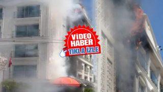 Antalya'da 5 yıldızlı otelde yangın! Müşteriler tahliye edildi