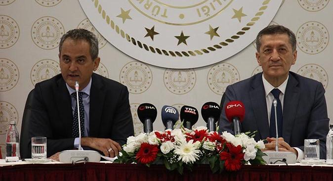 Yeni Bakan Mahmut Özer'den yüz yüze eğitim açıklaması