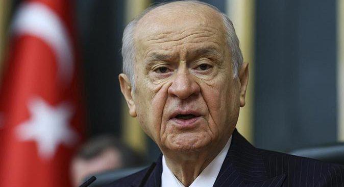 MHP lideri Devlet Bahçeli'den seçim barajı açıklaması