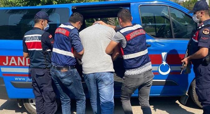 11 ayrı suçtan aranan şahıs Finike'de yakalandı