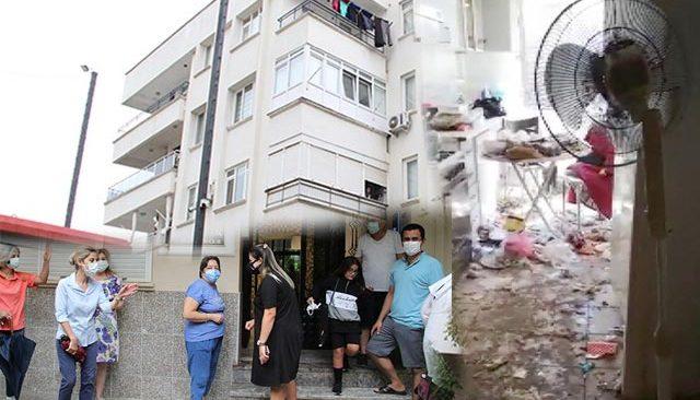 Dairesini çöp eve çevirdi... 14 daireli apartmanda komşu isyanı
