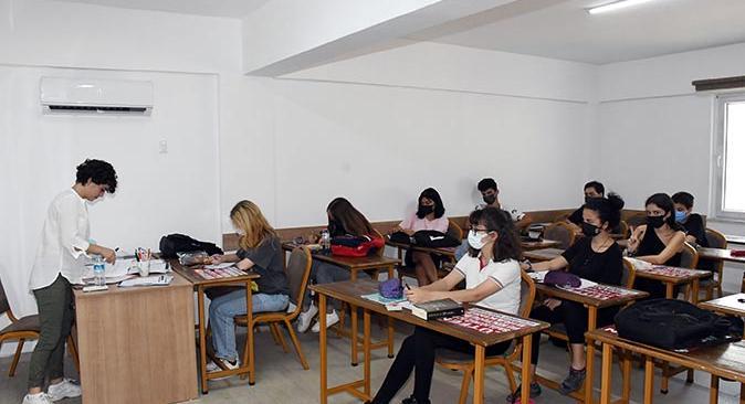 Ahmet Erkal Destek Eğitim Kurs Merkezi tam gün eğitime başladı