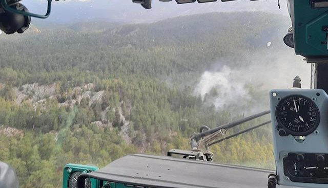Akseki'de orman yangını! Kısa sürede müdahale edildi