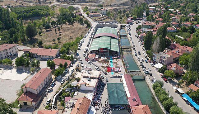 Kaş'ta, Gömbe Panayır Alanı törenle açıldı