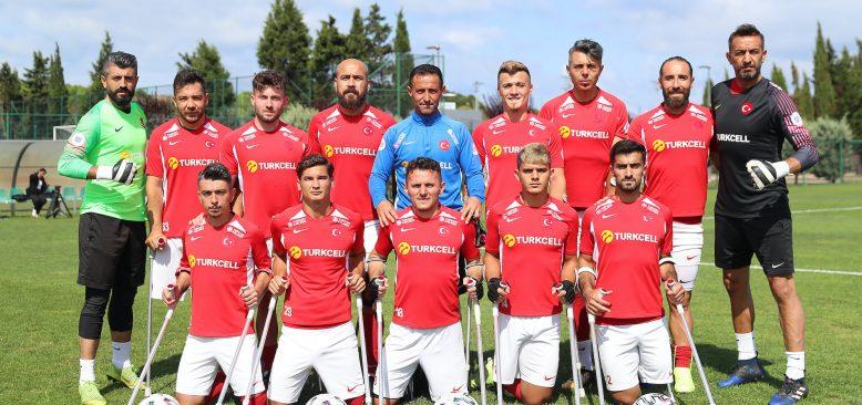 Ampute Futbol Milli Takımından tarihi galibiyet!