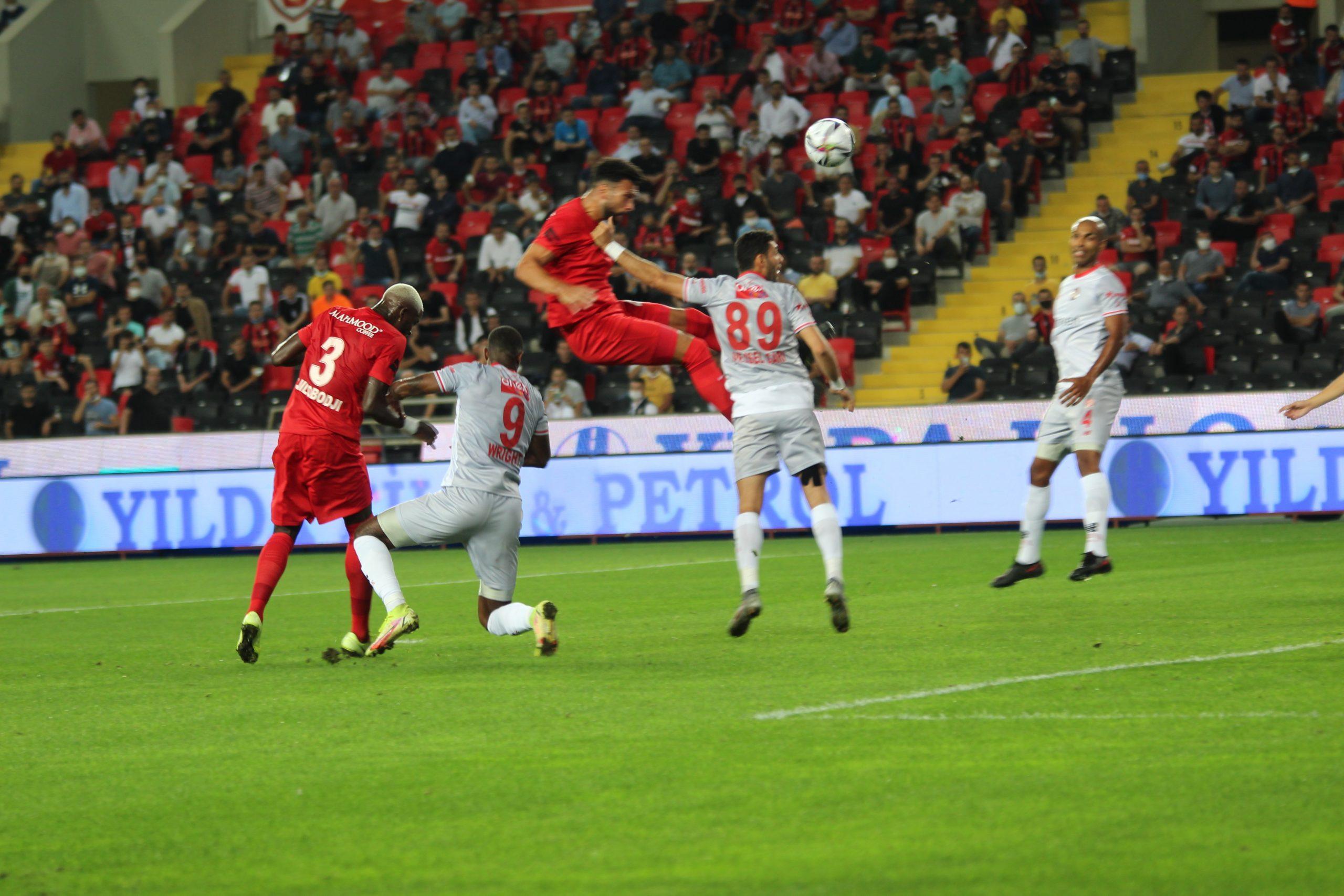 Antalyaspor deplasmanda mağlup
