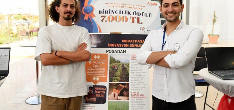 Muratpaşa İnovasyon Günleri'nde en iyi fikir seçildi! Kahve atıklarını gübreye dönüştüren 'Posadan'