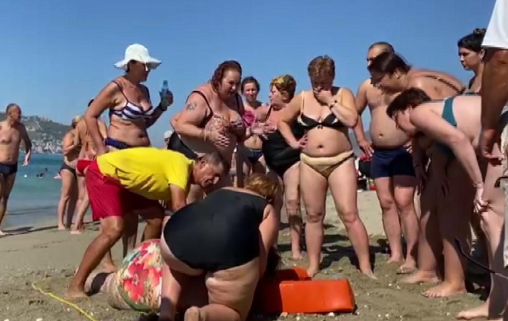 Rus turist boğulma tehlikesi geçirdi!