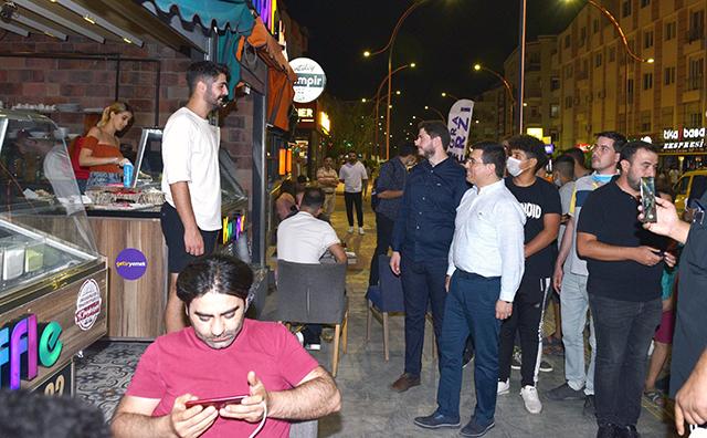 Kepez'de yenilenen Kafeler Caddesi açılıyor
