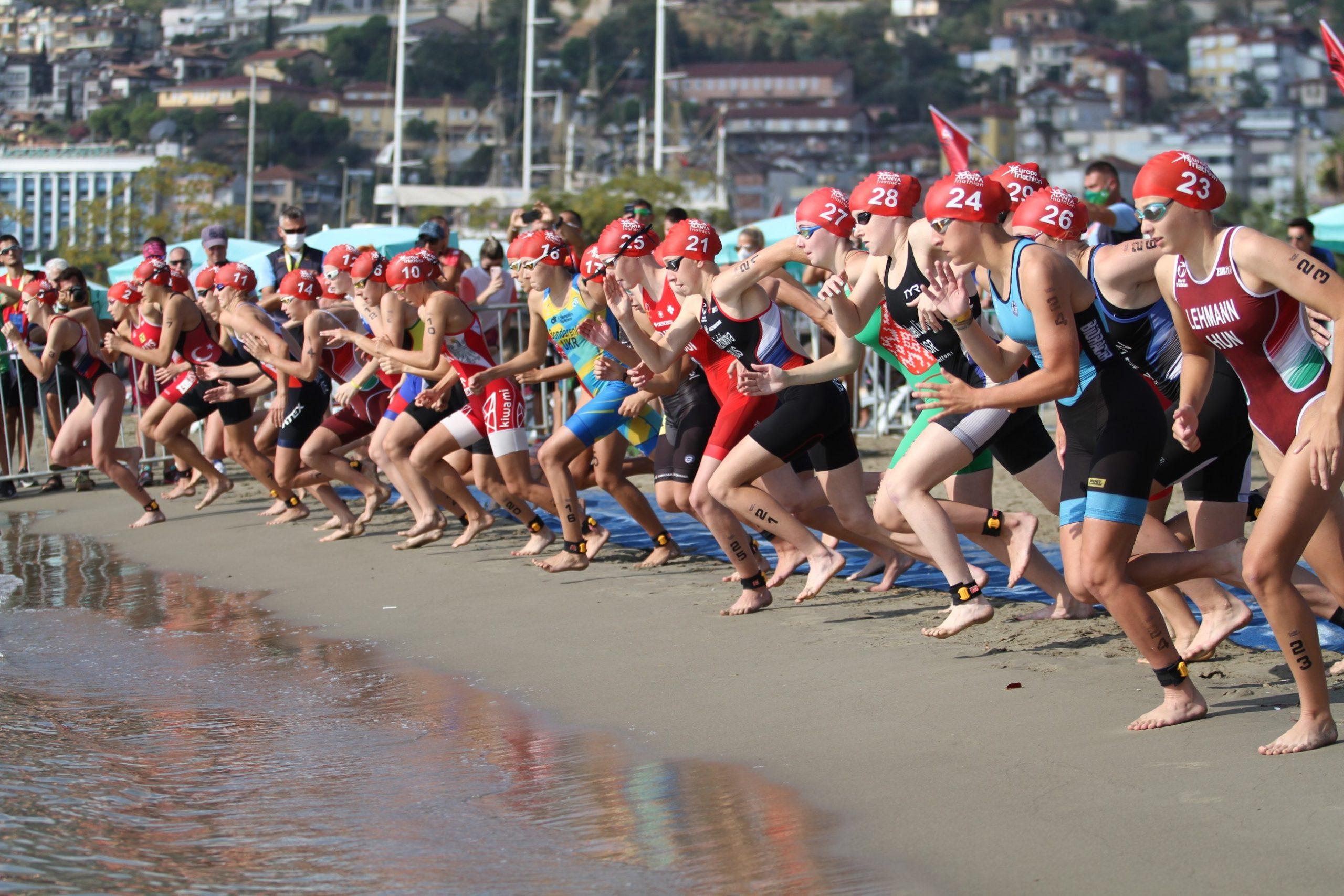 30. Alanya Uluslararası Trıathlon Yarışları başladı
