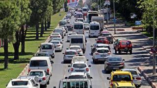 Antalya araç sayısında 4'üncü sırada yer aldı