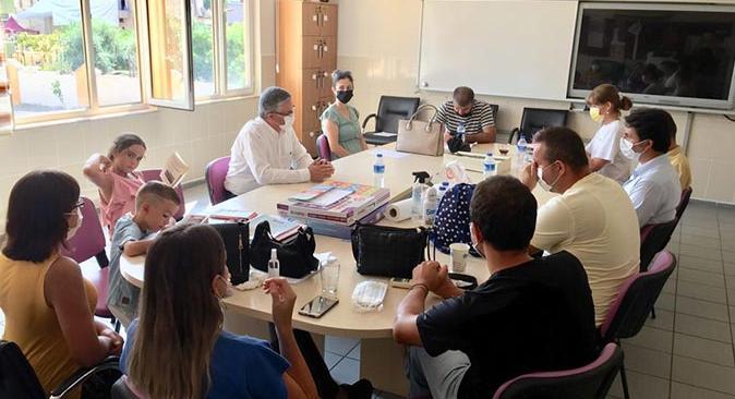Başkan Necati Topaloğlu'ndan okullara ziyaret