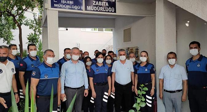 Başkan Necati Topaloğlu, zabıtaların gününü kutladı