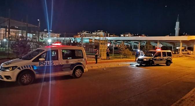 Kayseri'deki halı saha maçı hastanede bitti