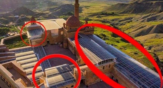 İshak Paşa Sarayı restorasyonuna tepki