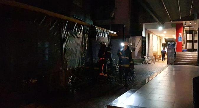 Antalya'da Muhamned Saif sınır dışı edilebilmek için yangın çıkarttı
