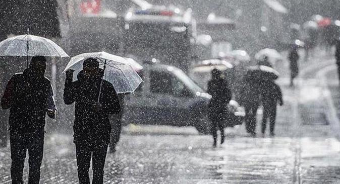 Meteoroloji'den 9 ile sağanak yağmur uyarısı