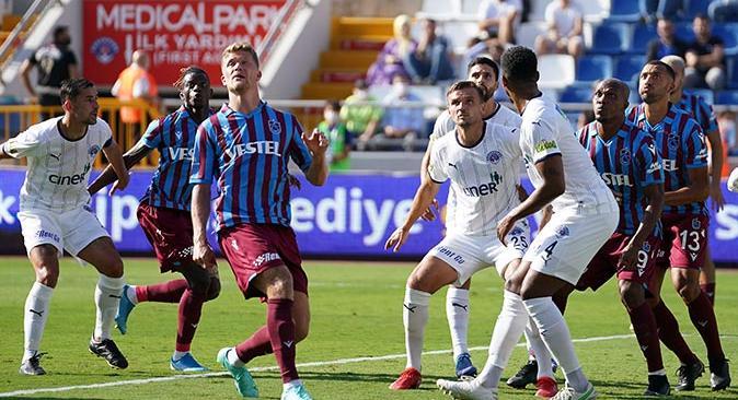 Trabzonspor Kasımpaşa karşısında hata yapmadı