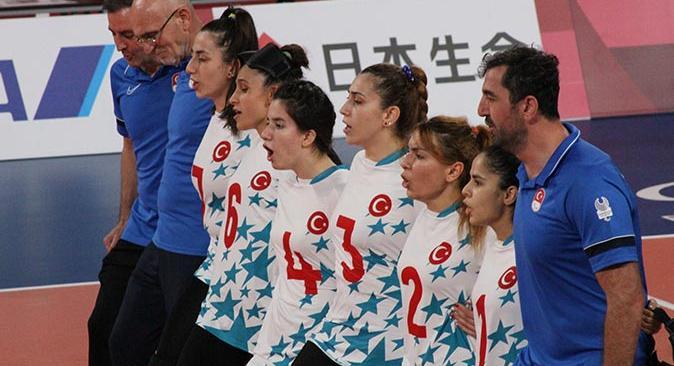 Golbol Kadın Milli Takımı altın madalya kazandı