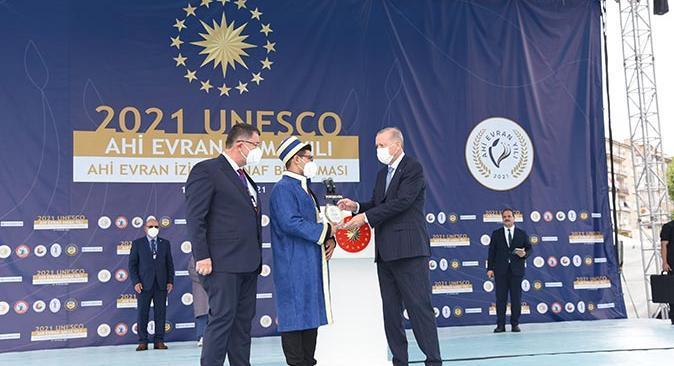 Yılın Kalfası ödülü Ali Korkmaz'ın