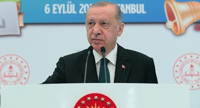 Cumhurbaşkanı Recep Tayyip Erdoğan'dan yüz yüze eğitim açıklaması