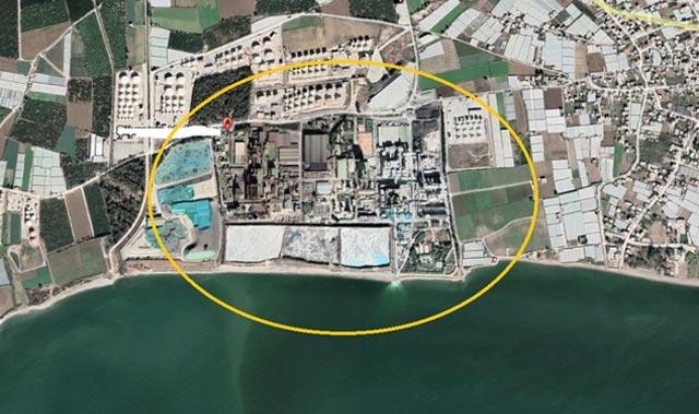 Mersin'den Akdeniz'e zehirli atık sızıyor!