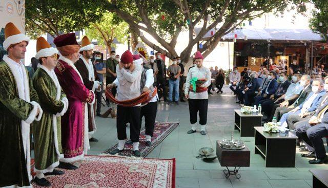 Ahilik kutlamalarında şet kuşanma töreni düzenlendi