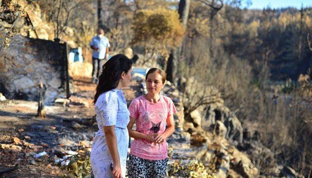 Yangından zarar gören arıcılar için ortak çözüm önerisi bildirgesi