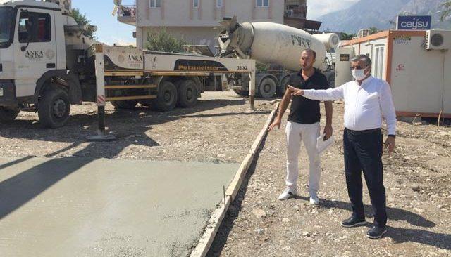 Kemer Arslanbucak'a anaokulu müjdesi! 8 ayda içerisinde tamamlanacak