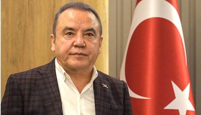 Antalya'daki depremle ilgili Başkan Böcek'ten açıklama