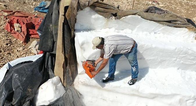 Antalya'da dağdan karın şehre zorlu yolculuğu