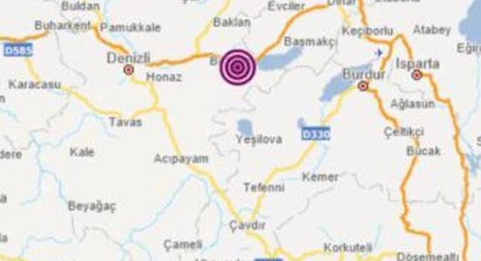 Son dakika.... Denizli'de 3.9 büyüklüğünde deprem oldu