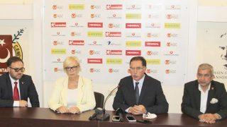 Türkiye ve Ukrayna ombudsmanları, AGC Başkanı Mevlüt Yeni ile bir araya geldi