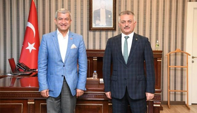 Başkan Mevlüt Yeni'den Vali Ersin Yazıcı'ya davet