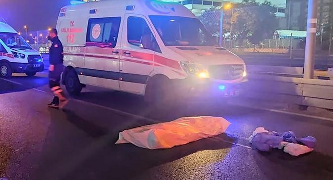 Motosiklet 500 metre savruldu! 2 kişi hayatını kaybetti
