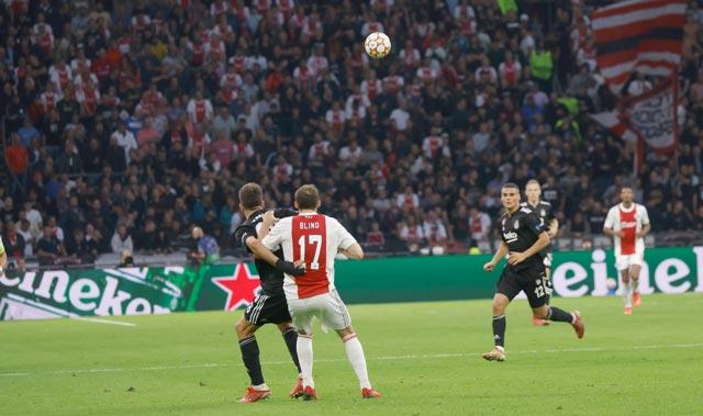 Kartal eli boş döndü! Beşiktaş Ajax'a mağlup oldu