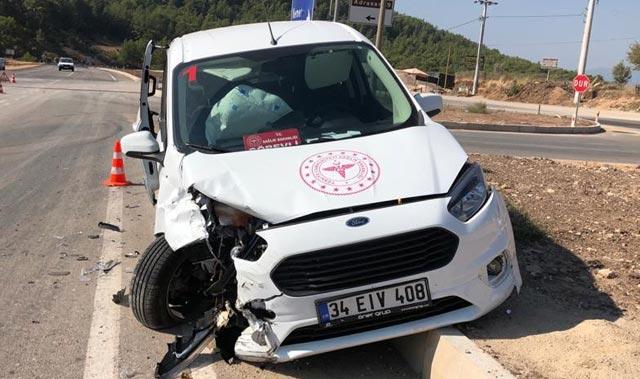 Antalya İlçe Sağlık Müdürleri ölümden döndü