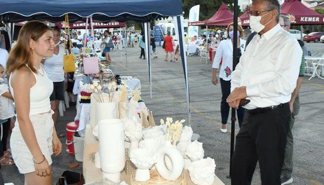 Kemer'de Gönül Nar Festivali düzenlendi
