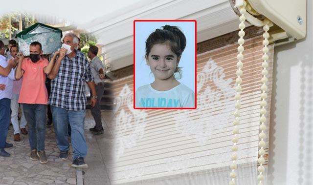 Stor perde hayattan koparmıştı! 5 yaşındaki Miray Elif toprağa verildi
