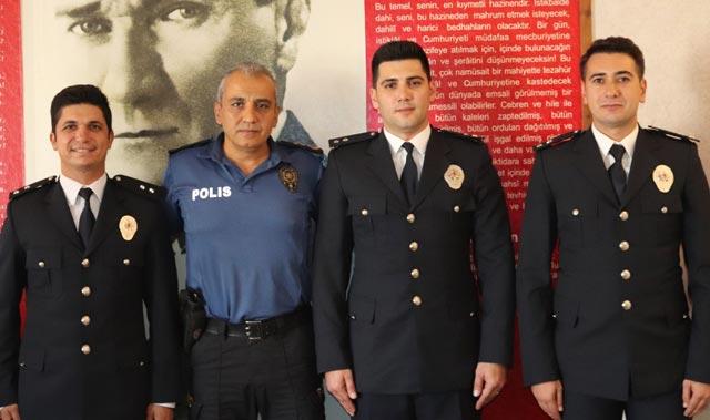 Manavgat ilçe Emniyet Müdürlüğü'nde ödül töreni