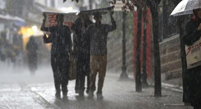 Meteoroloji'den o bölgelere sağanak yağmur uyarısı