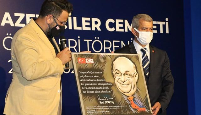 Kıbrıs AGC Başkanı Mevlüt Yeni'yi unutmadı
