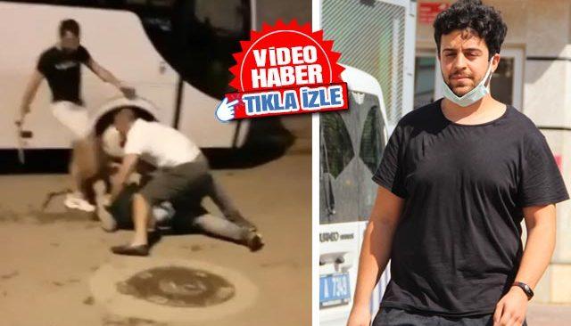 Genç kadın ve ailesine palalı saldırı! O görüntüler sosyal medyayı salladı